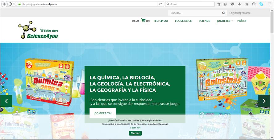 PANTALLAZO SCIENCE4YOU juegos ciencia niños