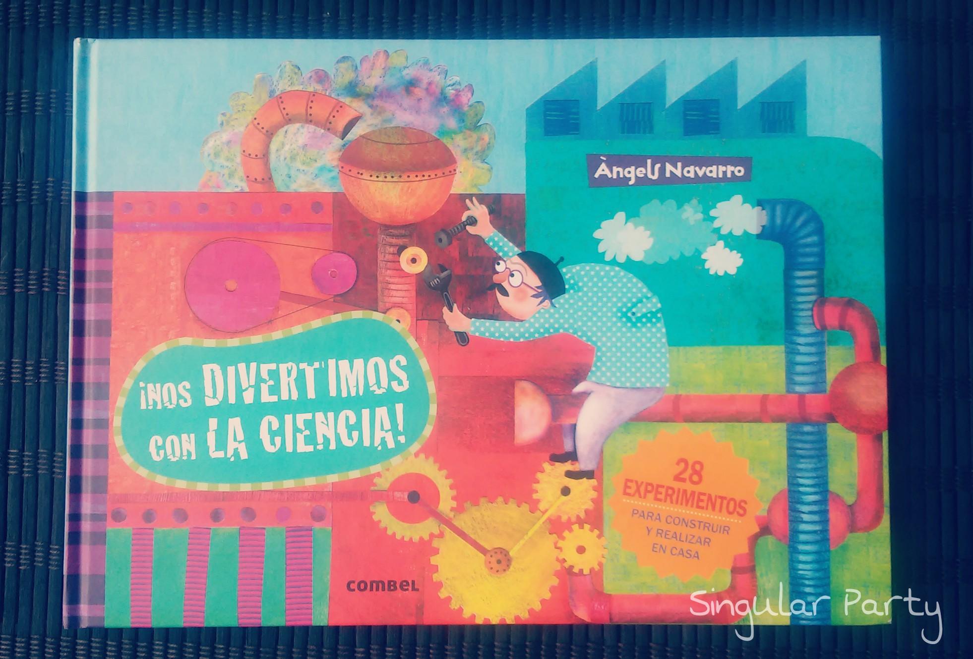 libro ciencia y expeerimentos para niños