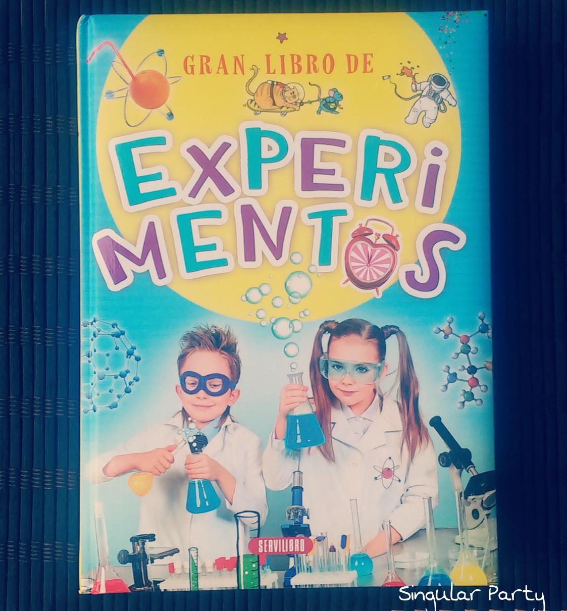 portada gran libro experimentos para niños