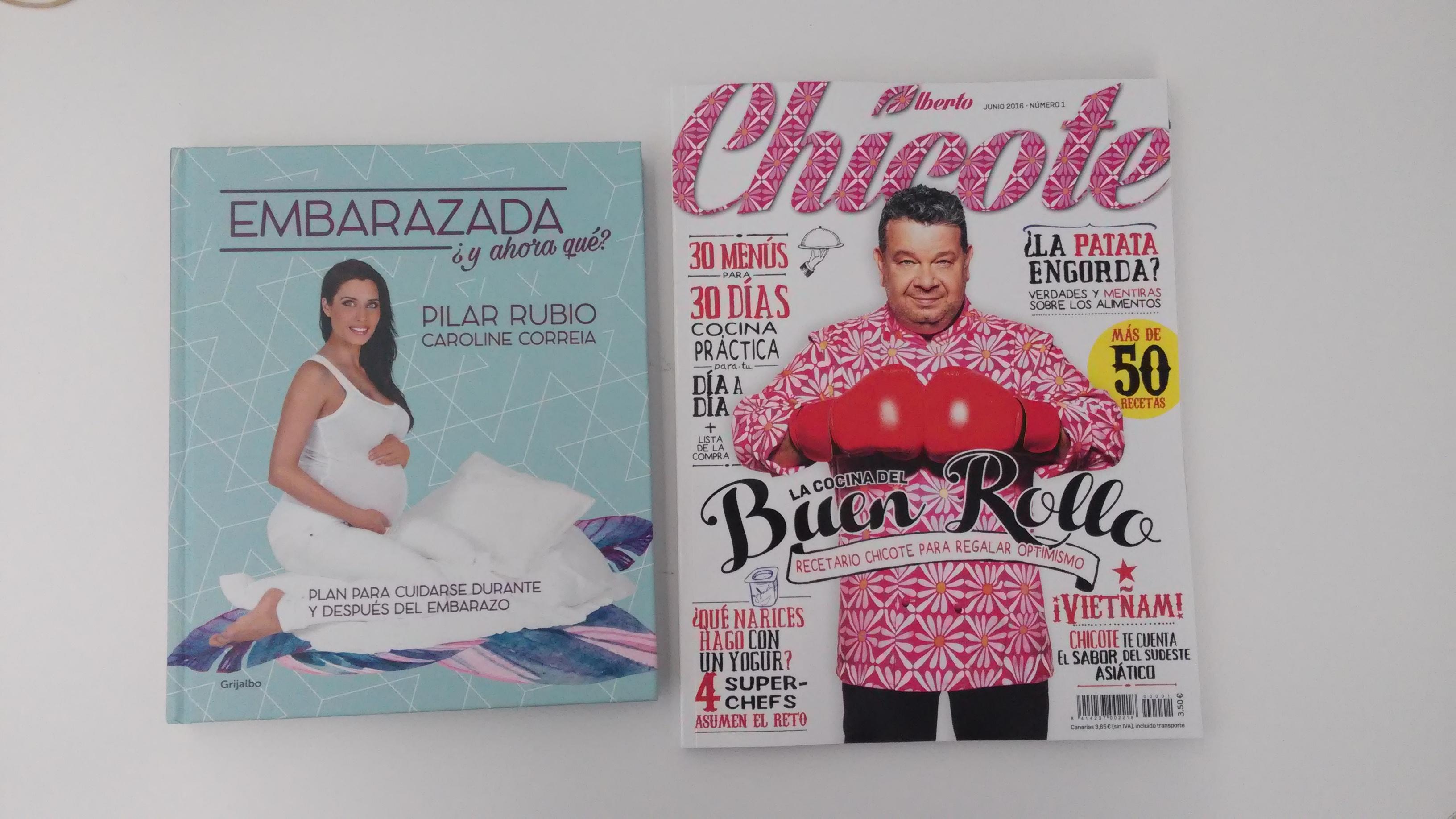 Revista Chicote y Libro Pilar Rubio