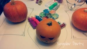 calabazas decoradas para Halloween 1