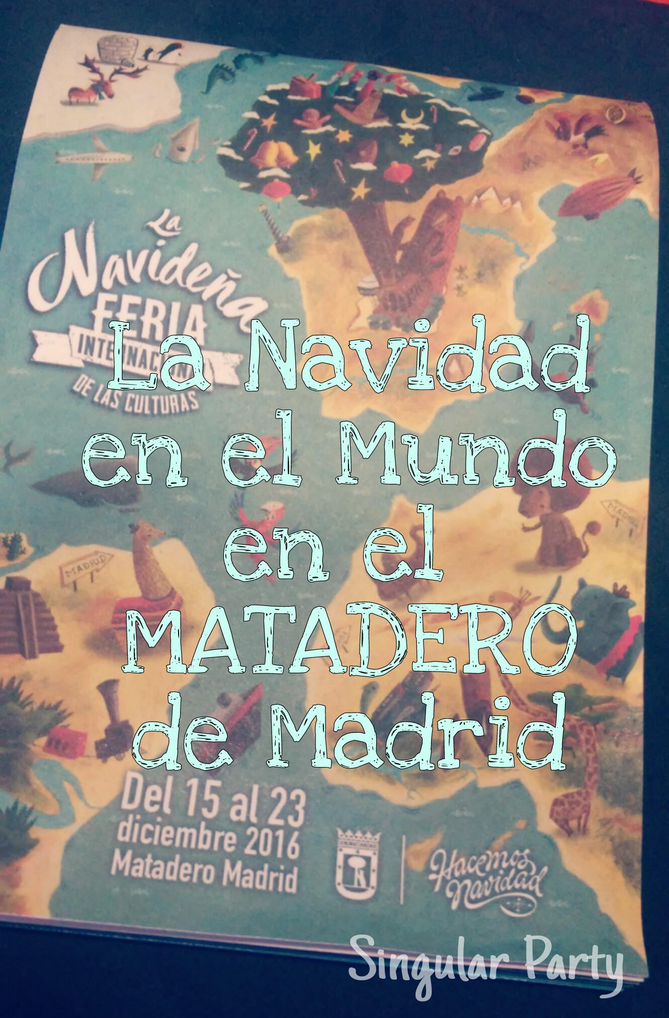 Navidad en elmundo en el Matadero de Madrid